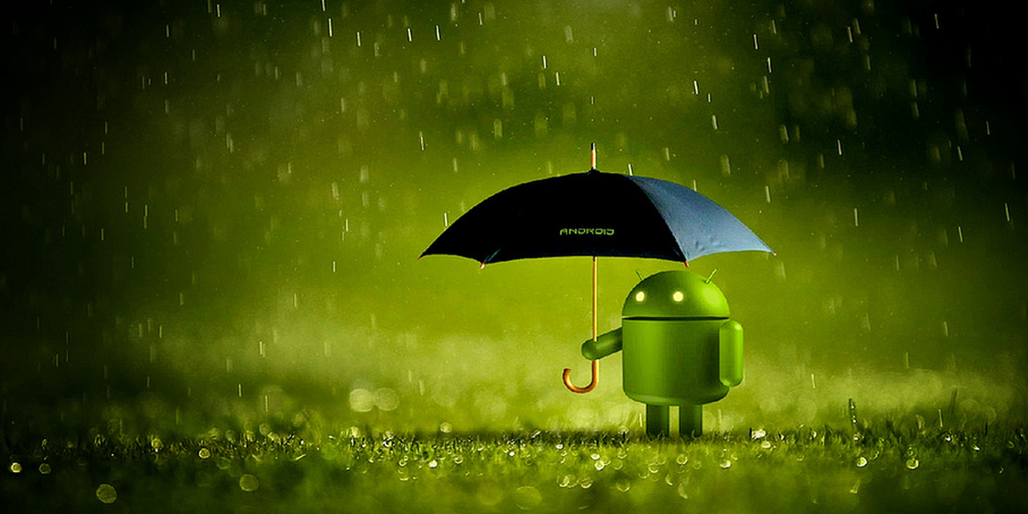 Android guarda-chuva
